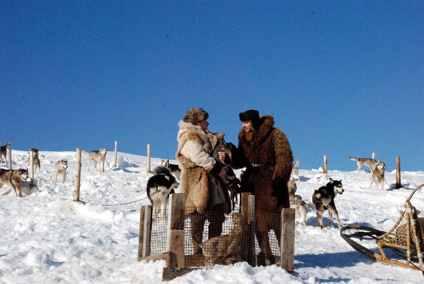 Image result for sled dog soldier movie images